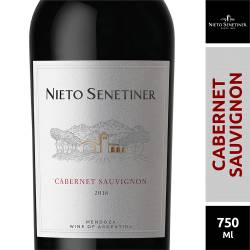 Vino Tinto Cabernet Sauvignon Nieto Senetiner x 750 cc.