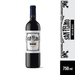 Vino Tinto Malbec San Telmo Selec x 750 cc.