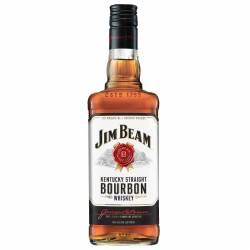 Whisky Bourbon Jim Beam White Label Jim Beam x 750 cc.