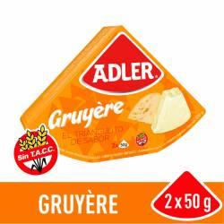 Queso Fundido Gruyere Adler x 100 g.