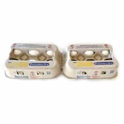 Huevo Blanco Ponedoras Sur x 6 un.