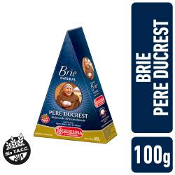 Queso Brie Natural Pere Ducrest x 100 g.