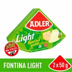 Queso Untable Light Adler x 100 g.