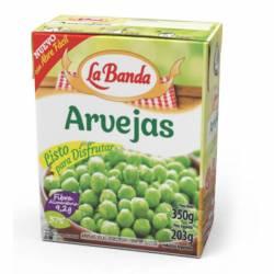 Arvejas Secas Remojadas La Banda x 350 g.
