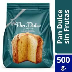 Pan Dulce s/Frutas La Anónima x 500 g.