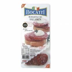 Salamín en Rodajas Bocatti x 100 g.