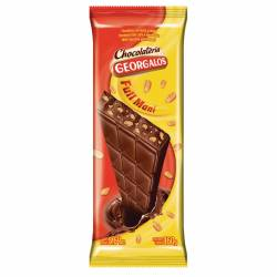 Chocolate c/Leche y Maní Georgalos x 160 g.