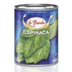 Espinaca Cortada La Banda x 350 g.