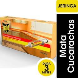 Insecticida Jeringa Gel Cucarachas Raid Max x 3 g.