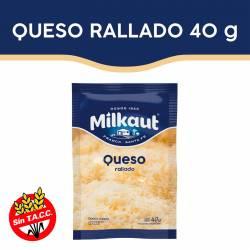 Queso Rallado Milkaut x 40 g.