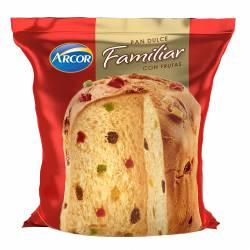 Pan Dulce c/Frutas Arcor x 600 g.