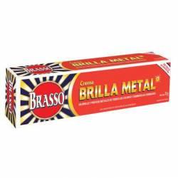 Limpiador Crema Metales Brasso x 70 g.