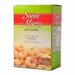 Galletitas de Limón Santa María x 200 g.