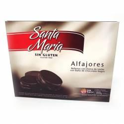 Alfajor Chocolate Santa María x 6 un.