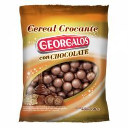 Crocante de Maní c/Chocolate Georgalos x 100 g.