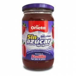 Mermelada de Frutilla s/Azúcar Orieta x 340 g.