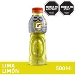 Bebida Lima Limón Pet Gatorade x 500 cc.