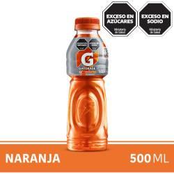 Bebida Naranja Pet Gatorade x 500 cc.