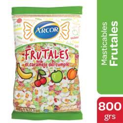 Caramelos Masticables Fruta Arcor x 800 g.