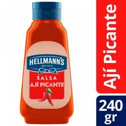 Salsa de Ají Picante Hellmanns x 240 g.