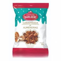 Almendras Bañadas c/Chocolate Bariloche x 80 g.