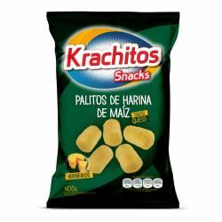 Palitos de Maíz c/Queso Krachitos x 400 g.