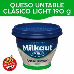 Queso Untable Light Tradicional Milkaut x 190 g.