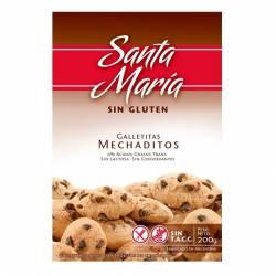 Galletitas c/Chips Choco Mechaditos Santa María x 200 g.