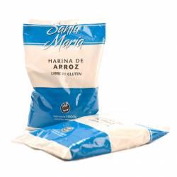 Harina de Arroz s/Gluten Santa María x 1 Kg.
