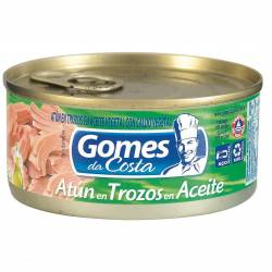 Atún en Aceite en Trozos Gomes da Costa x 170 g.