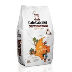 Café Molido Tostado Natural Cabrales x 500 g.