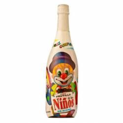 Bebida sabor Frutilla c/Gas Pet Feliz Cumpleaños x 1 Lt.