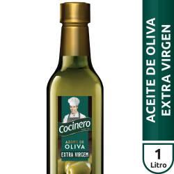Aceite de Oliva Extra Virgen Pet Cocinero x 1 Lt.