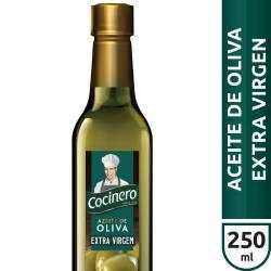 Aceite de Oliva Extra Virgen Pet Cocinero x 250 cc.