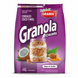 Granola Crocante c/Coco y Miel Granix x 350 g.