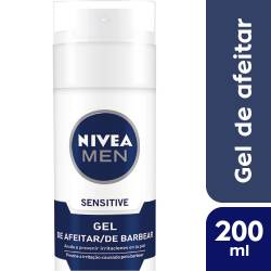 Gel de Afeitar Sensitive Nivea Men x 200 cc.