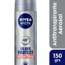 Antitranspirante Aerosol Silver Protect Nivea Deo x 150 cc.