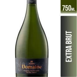 Vino Espumante Extra Brut Domaine x 750 cc.