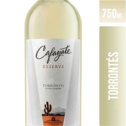Vino Blanco Torrontes Reserve Cafayate x 750 cc.