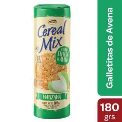 Galletitas c/Avena y Manzana Cereal Mix x 180 g.