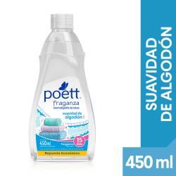 Perfume Ropa Suavidad Algodón Repuesto Poett Fraganza x 450 cc.