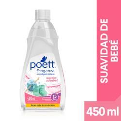 Perfume Ropa Suavidad Bebe Repuesto Poett Fraganza x 450 cc.
