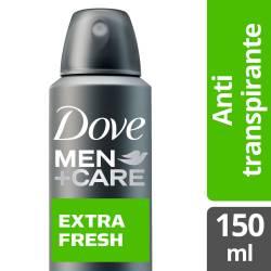 Antitranspirante Aerosol Extra Fresh Dove Men x 150 cc.