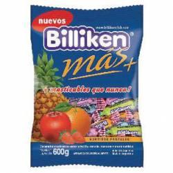 Caramelos Masticables Frutales c/Yogur Billiken x 600 g.