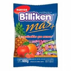 Caramelos Masticables Frutales Billiken x 600 g.