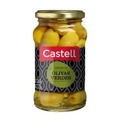 Aceitunas Verdes Premium Castell x 220 g.