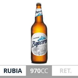 Cerveza Retornable Bajo Cero Quilmes x 970 cc.