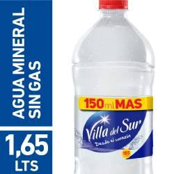 Agua Mineral s/Gas Villa del Sur x 1,65 Lt.