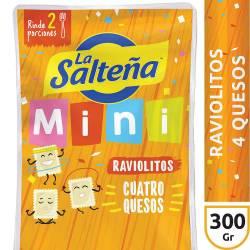 Raviolitos 4 Quesos La Salteña x 300 g.
