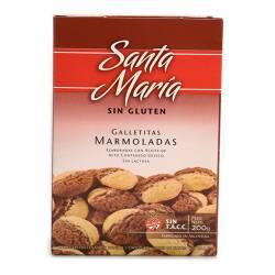Galletitas Marmoladas Santa María x 200 g.
